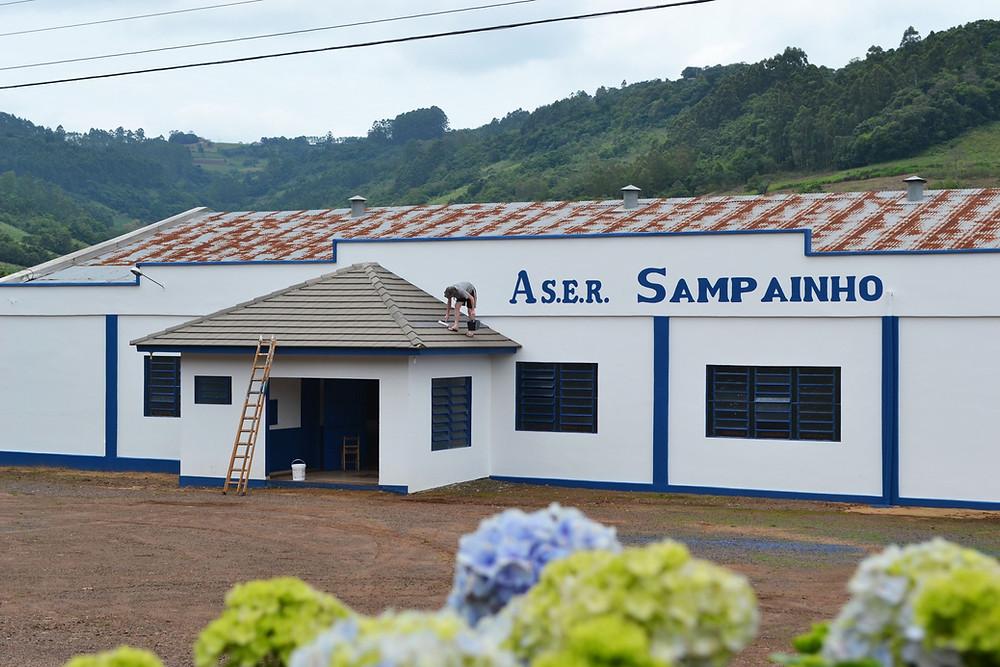 Evento ocorre na ASER Sampainho, interior do município