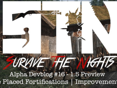 Alpha Devblog #16 - 1.5 Preview (Free Placed Fortifications | Fortification Improvements ++)