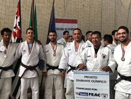 JUDO MASCULINO É VICE-CAMPEÃO DOS JOGOS REGIONAIS 2019