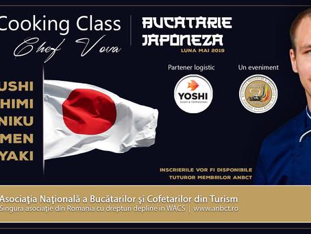Demo Cooking Class Gratuit - Bucatarie Japoneza
