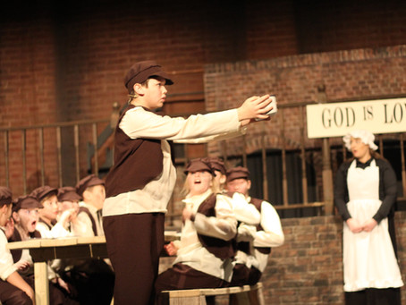 """I've been """"Reviewing the Situation"""" with Curtain Up's production of """"Oliver!"""" at Grimsby Auditorium"""