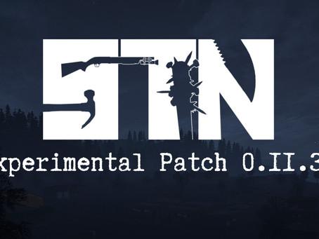 Pre-Alpha Devblog #35 (Experimental Build Patch 0.11.34)