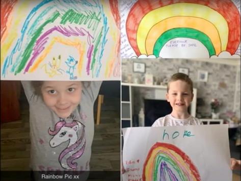 Rainbows in Leighton-Linslade - Video