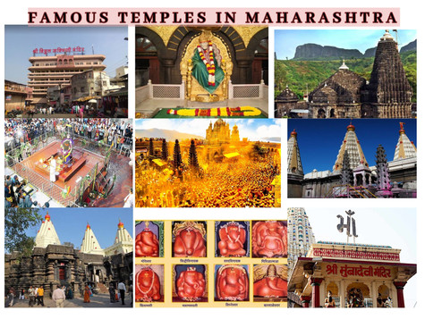 Famous Temples in MAHARASHTRA