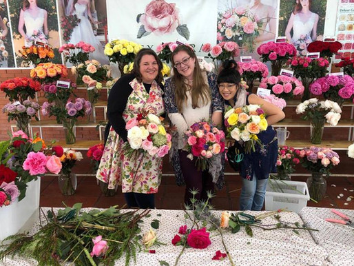 Floral Designers from US, Canada Visit Alexandra Farms