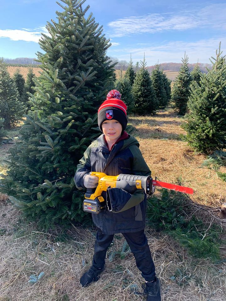 getting a christmas tree is a family tradition