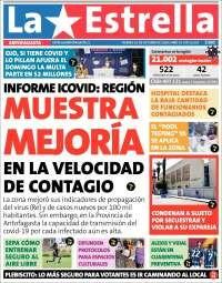 TITULARES DE LA PRENSA REGIONAL PARA HOY VIERNES 23 DE OCTUBRE