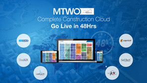 Go live in 48Hrs - RIB MTWO construction cloud launches a 48-hour solution