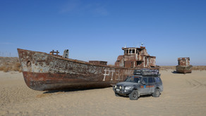 The Aral Sea and back to Kazakhstan