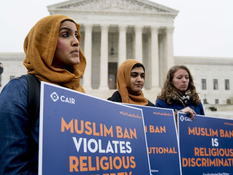 Supreme Court Upholds Trump Travel Ban On Muslims Countries..