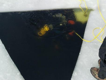 Okauchee Lake Ice Dive   March 2 2019