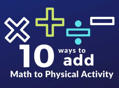 10 Ways to Add Math to Physical Activity