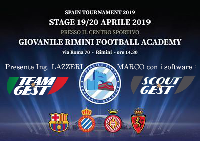 Saremo presenti al torneo di Rimini venerdi 19 Aprile