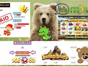 Bonus Bear slot game tips to win RM2000 in XE88