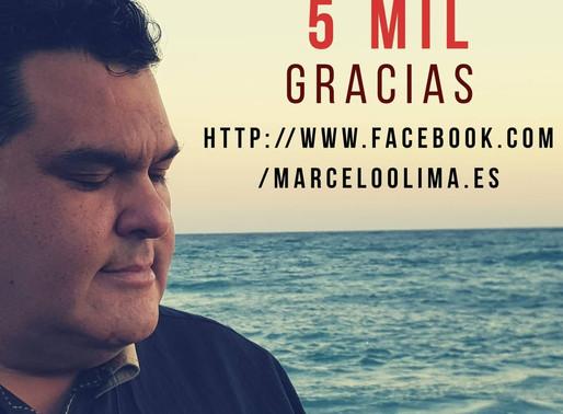 GRACIAS A LOS QUE NOS SIGUEN EN NUESTRA FANPAGE DE FACEBOOK. https://www.facebook.com/marceloolima.e