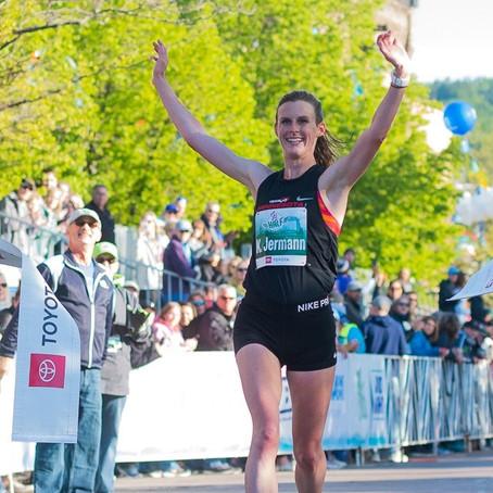 Katy Wins Garry Bjorklund HM;Dakotah 4th at Grandma's Marathon;Tyler 4th and Danny 6th in HM