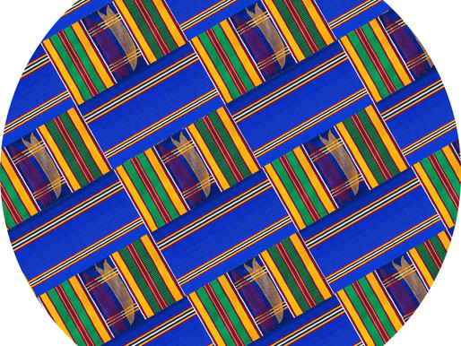 Afromats Royal Blue Kente slipmat arrives in time for the festive season