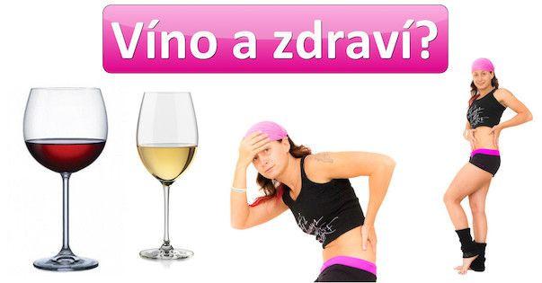 Víno, zdraví a hubnutí