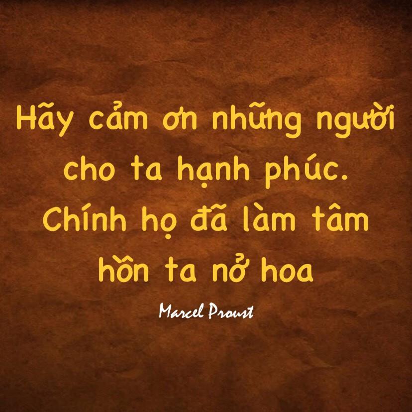Lòng biết ơn Marcel Proust