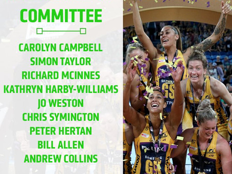 Netball Australia Introduces Suncorp Super Netball Competition Committee