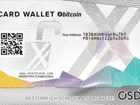 Bitcoin und Ether einfach und sicher lagern.