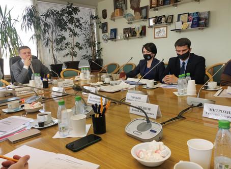 Состоялось заседание рабочей группы Комитета по законопроектам, касающимся института ТОС.