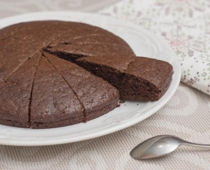 Gâteau ou fondant au chocolat sans œuf