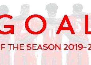 Goal of the Season 2019/20 Round 1
