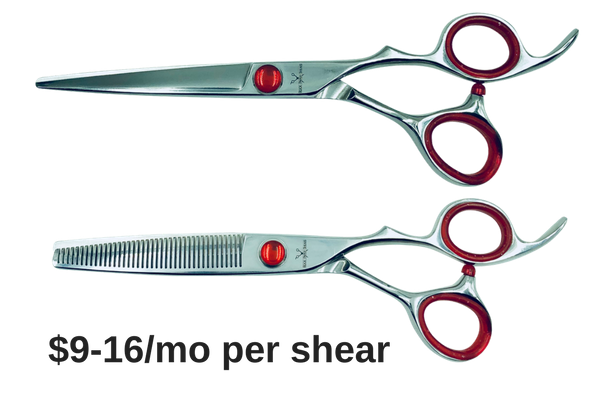 Expensive hair cutting shears without paying expensive prices