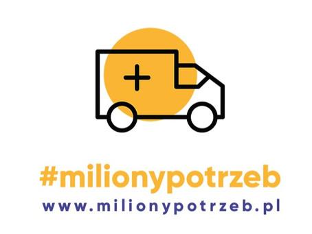 Z sukcesem kończymy akcję #milionypotrzeb