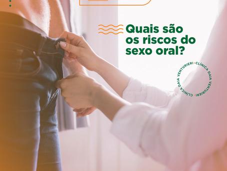 Quais são os riscos do sexo oral?