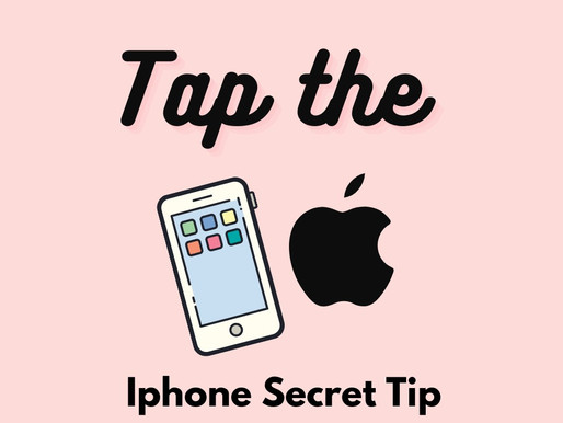 Tap The Apple - How to Take A Screenshot by Simply Tapping the Apple Logo on Your Iphone