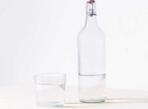 Já bebeste água hoje?