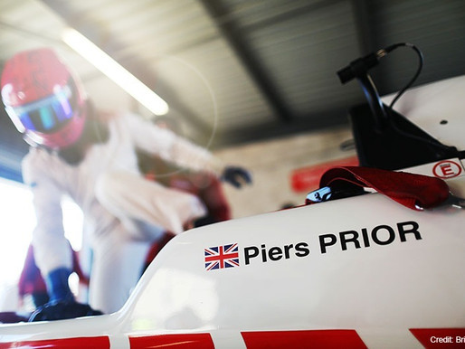 Simutec driver, Piers PRIOR joins Lanan for 2020 British F3 Championship.