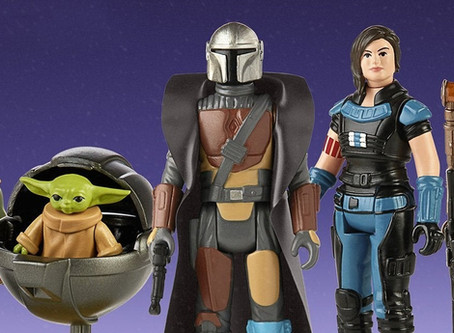 New Star Wars Retro Collection The Mandalorian Figures Include Baby Yoda