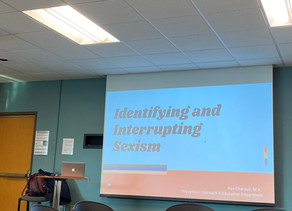 """'Complementary Sexism', 'Hierarchy of Harm' Discussed at """"Interrupting Sexism"""" Workshop"""