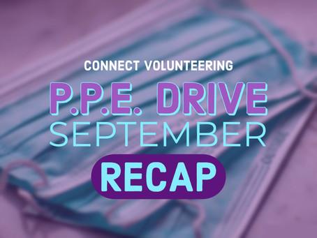 September P.P.E. Drive RECAP