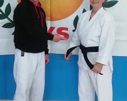 Black Belt Success for Brooke at JKS England Autumn Seminar. Saturday 12th October 2019