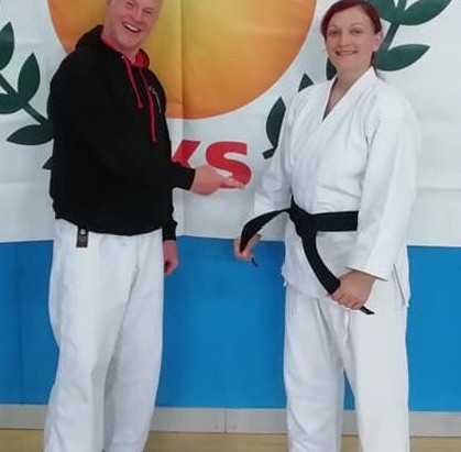 Black Belt Success for Brooke at JKS England Autumn Seminar. Saturday 12th October 2019