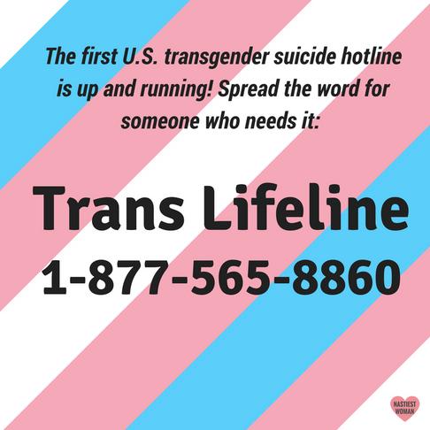 Transgender Suicide Hotline