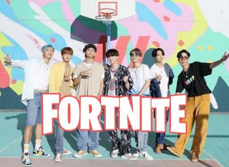"""¡INCREÍBLE! """"BTS"""" aparecerá en """"Fortnite"""" aquí la fecha 🎮😍"""
