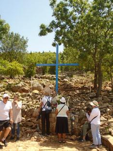 Blue Cross en Podbrdo Hill