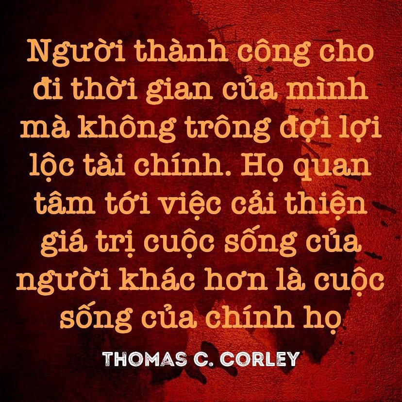 Cải thiện giá trị sống của người khác Thomas Corley