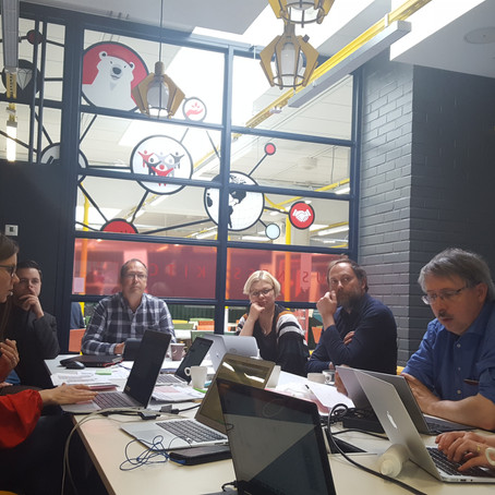 Oulu, Finland 2nd Project Partners Meeting (24-26/4/2018)