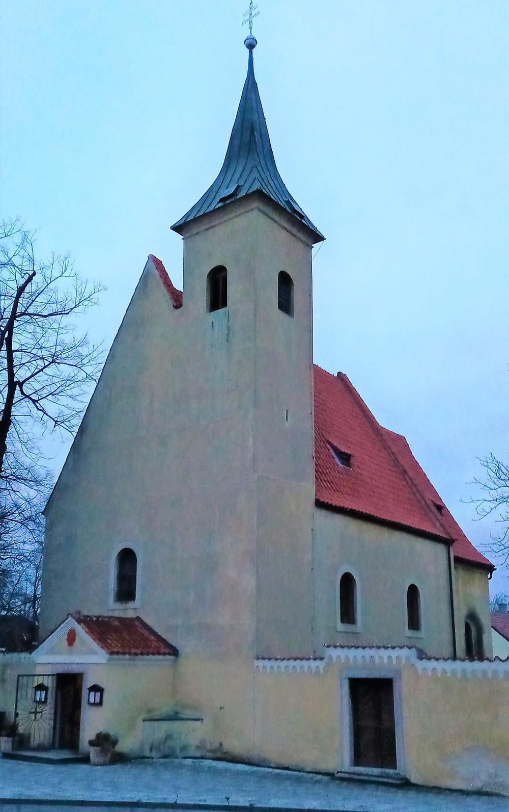 Kostel Všech Svatých ve Slivenci
