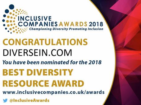 2 Diversity Awards Nominations !