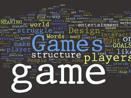 Game Design - Who needs it?!