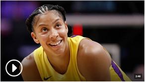 Candace Parker optimistic over 2020 WNBA season.