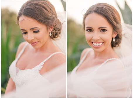 Bridal Portraits at Joshua Springs Park and Preserve in Comfort, Texas