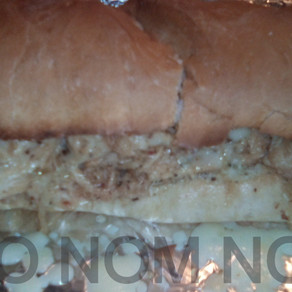 Grilled Chicken Philly Cheese Sandwiches